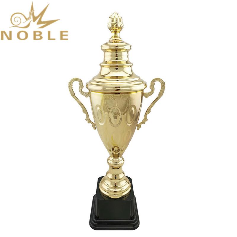 Free Logo Printing Custom Metal Swimming Trophy Awards
