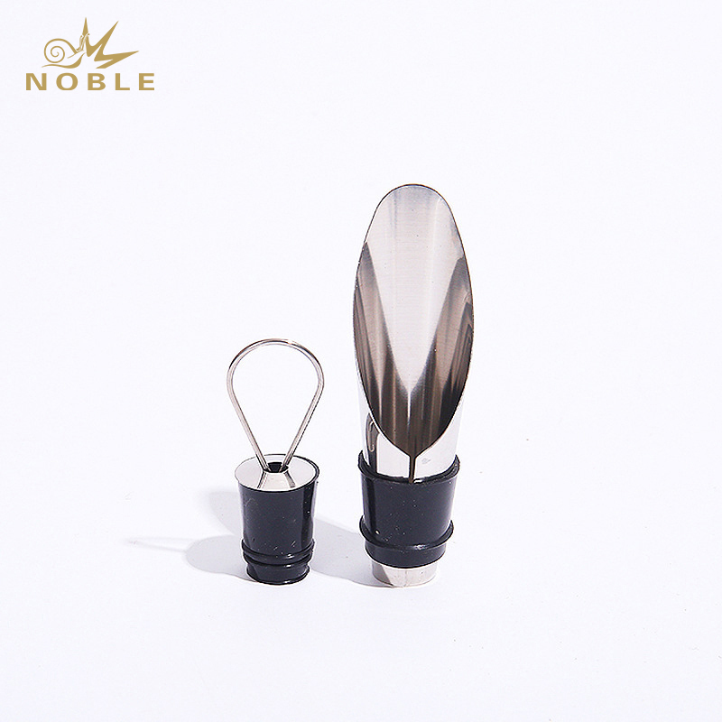 Hot Sell Metal Wine Aerator & Wine Bottle stopper