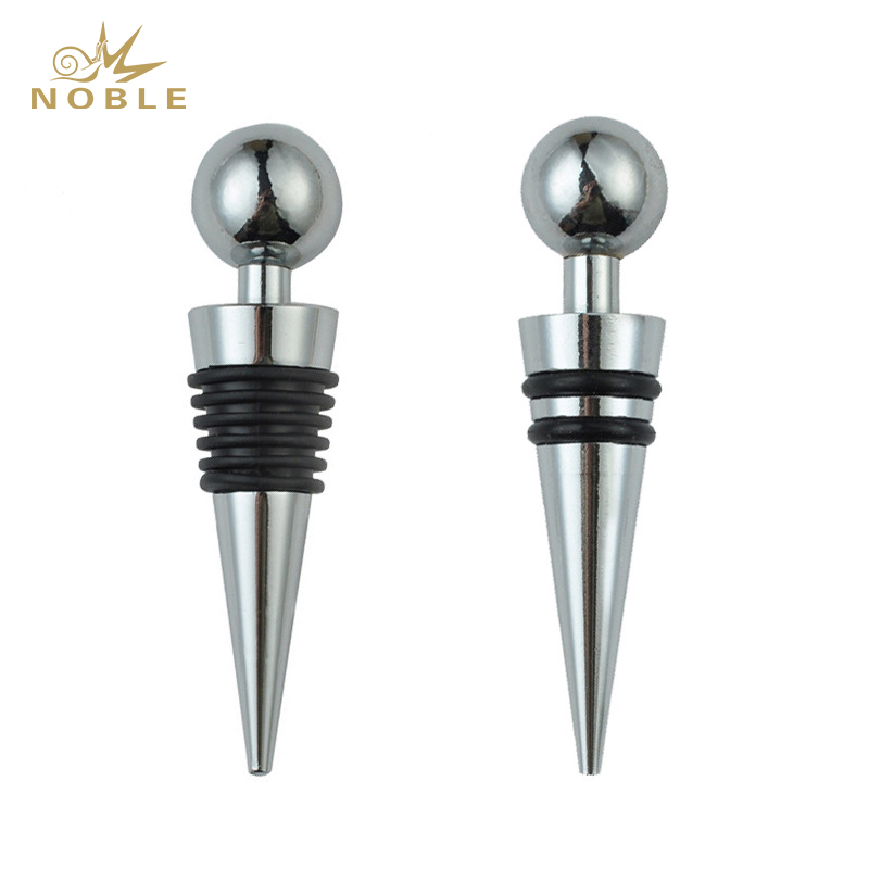 Hot Sale Zinc Alloy Wine Stoppers Reusable Wine Beverage Bottle Stoppers