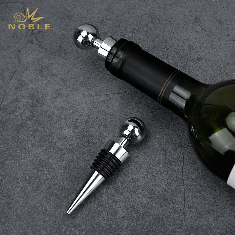 Zinc Alloy wine bottle stopper bar tools metal wine stopper