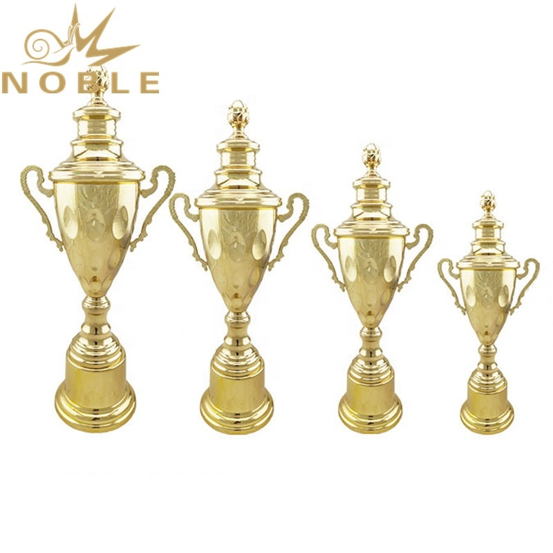 High Quality Free Logo Printing Metal Fencing Trophy Cups