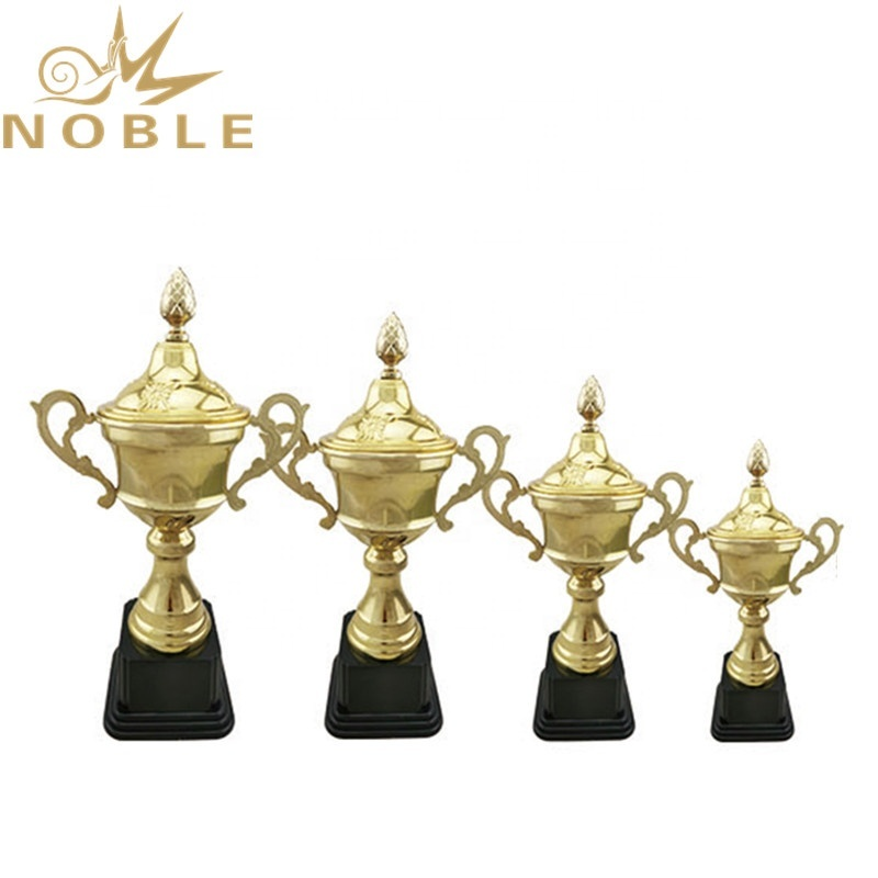Custom Sports Metal Trophy for Chess Competitions
