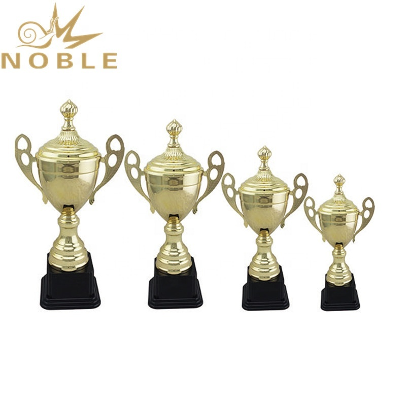 Metal Volleyball Sports Trophy with Plastic Base