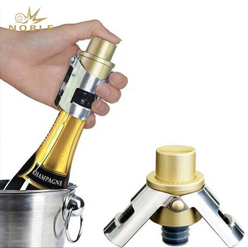 Promotion Stainless Steel Champagne Stopper Wine Bottle Stopper
