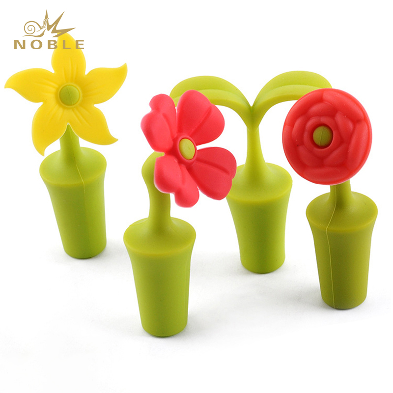 Reusable Food Frade Silicone Rubber Bottle Stoppers for Wine Beer Champagne Bottles