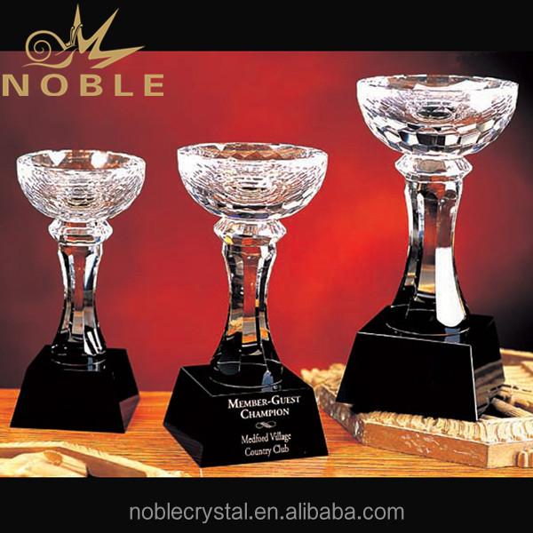 New Design Best Selling Custom Crystal Cup Trophy
