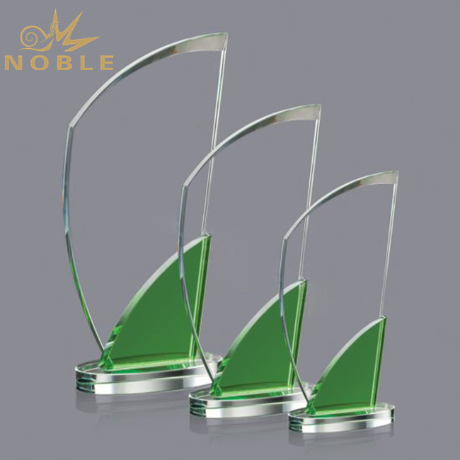 Crystal Craft Memorial Gifts Blank Ttrophy Awards Plaque