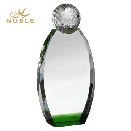 New Design Custom Engraving Crystal Golf Trophies