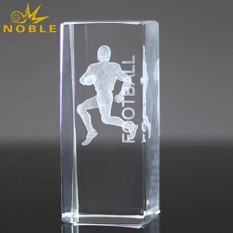 Custom Engraving 3D Laser Blank Crystal Cube