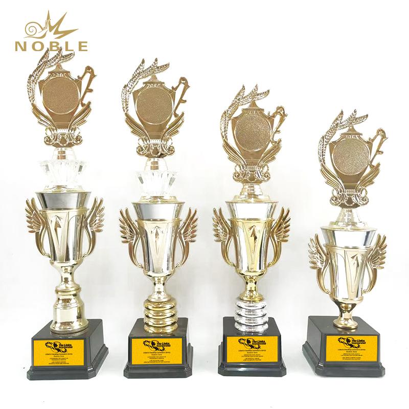 Custom new creative design metal award sport trophy cup