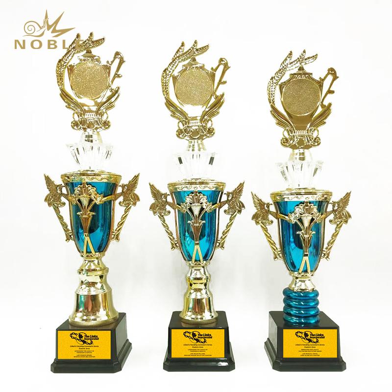 Wholesale Custom Sports Marathon Champions League Metal Trophy