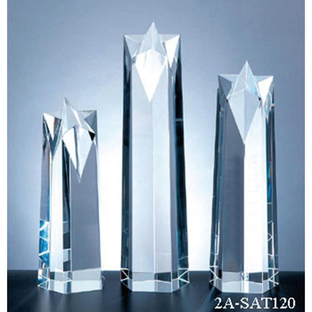 Excellent custom new design Crystal Star Award Trophy