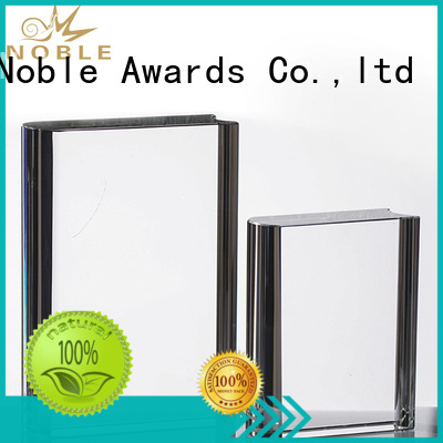 Noble Awards premium glass Crystal Trophy Award supplier For Gift