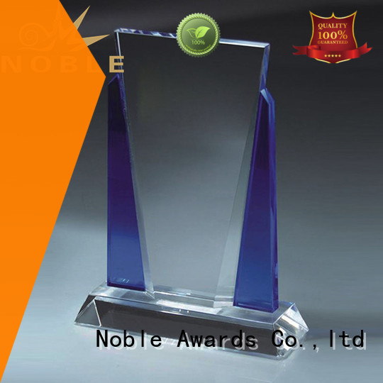Noble Awards premium glass Blank Crystal Trophy buy now For Awards