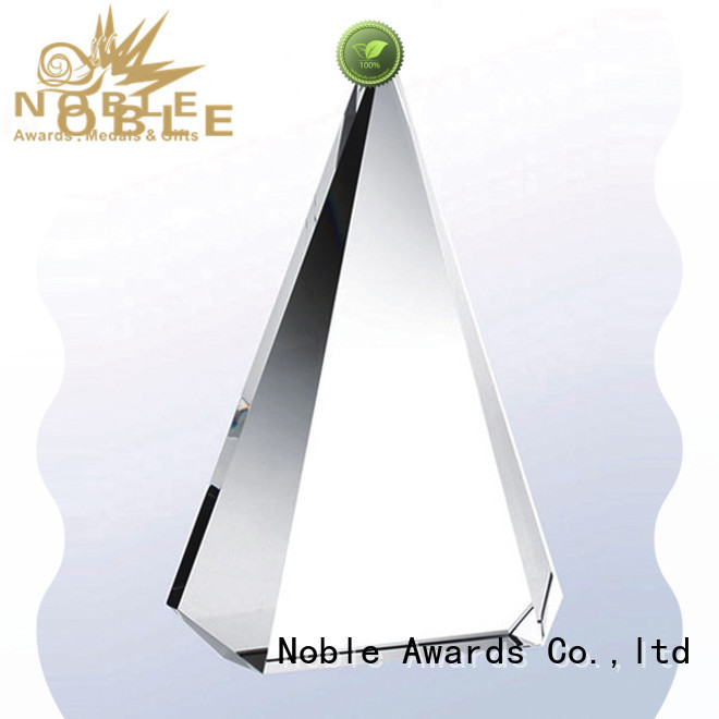 portable Blank Crystal Trophy premium glass ODM For Gift