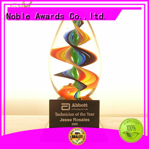 Noble Awards glass customization For Sport games
