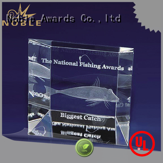 Noble Awards on-sale Blank Crystal Trophy supplier For Sport games