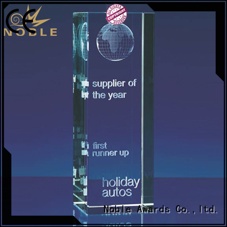 jade crystal Crystal trophies free sample For Sport games Noble Awards