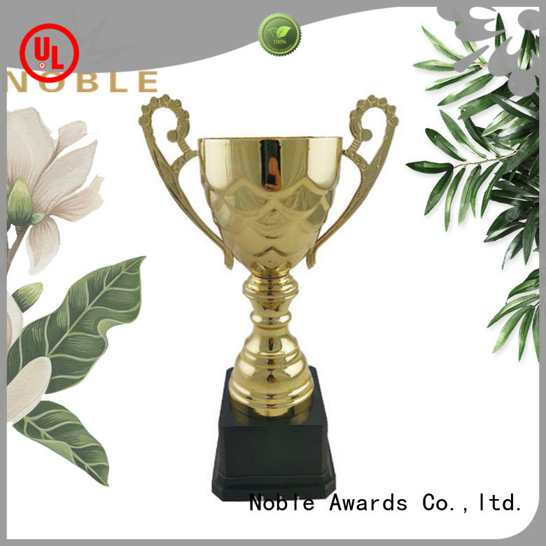Noble Awards K9 Crystal Metal trophies with Gift Box For Awards