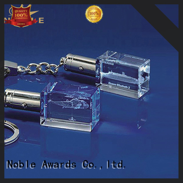 Noble Awards Crystal personalized glass gifts with Gift Box For Awards