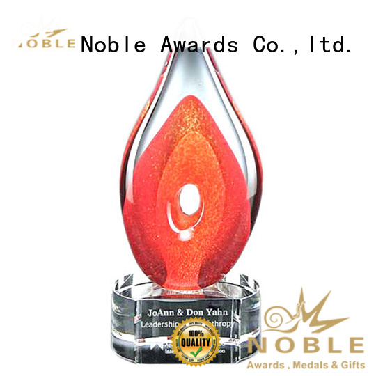 Noble Awards glass Art glass trophies get quote For Awards