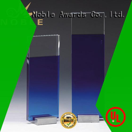 Noble Awards solid mesh Blank Crystal Trophy OEM For Gift