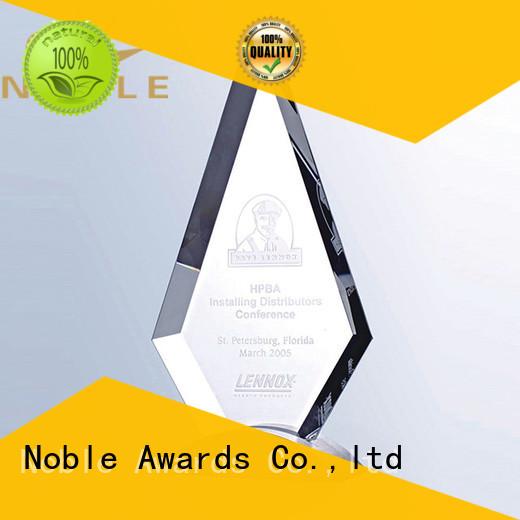 durable Crystal Trophy Award jade crystal ODM For Awards