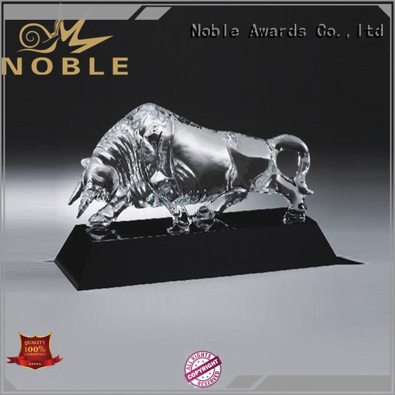 Breathable Souvenir gifts transparent with Gift Box For Awards