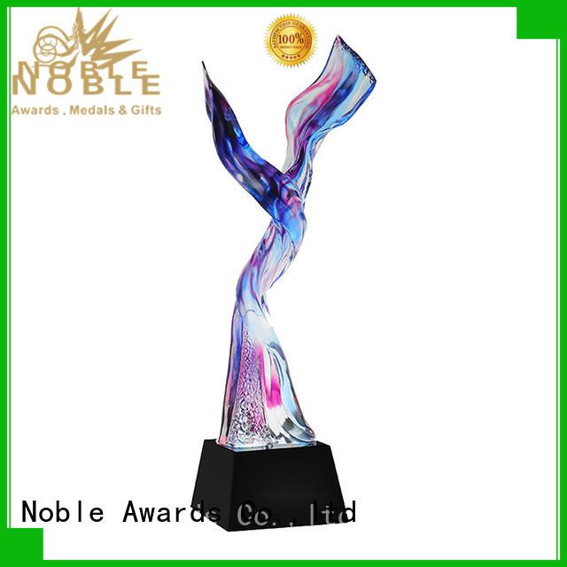 Noble Awards handcraft Liu Li Award bulk production For Sport games