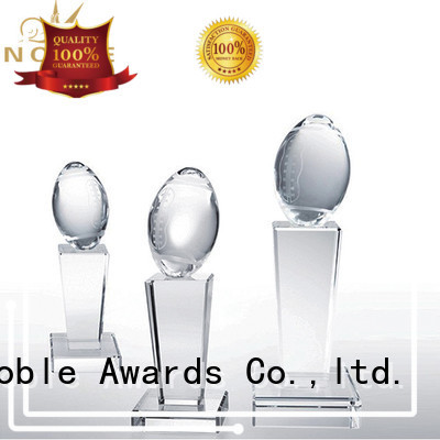 Noble Awards jade crystal Crystal trophies get quote For Gift