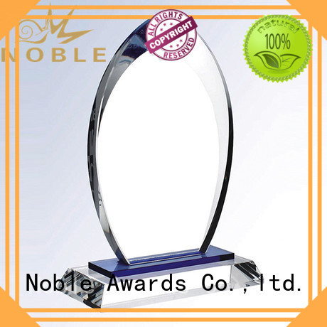 Noble Awards at discount 2019 Noble Customized Blank Crystal Trophy For Company Sales Awards buy now For Awards