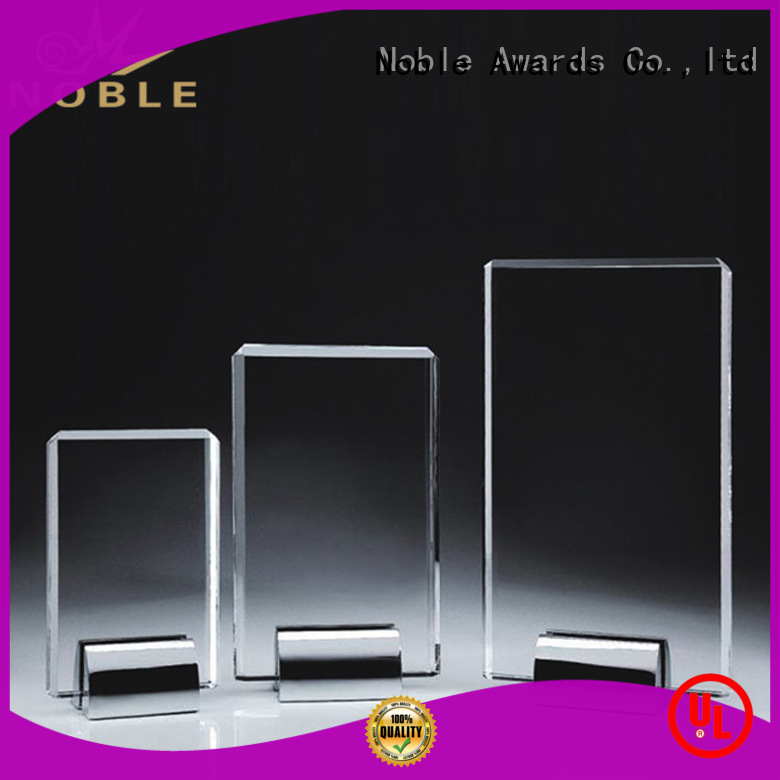 Noble Awards latest Crystal Trophy Award for wholesale For Awards