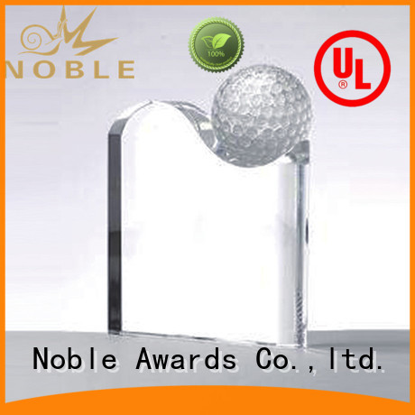 Noble Awards premium glass Blank Crystal Trophy get quote For Sport games
