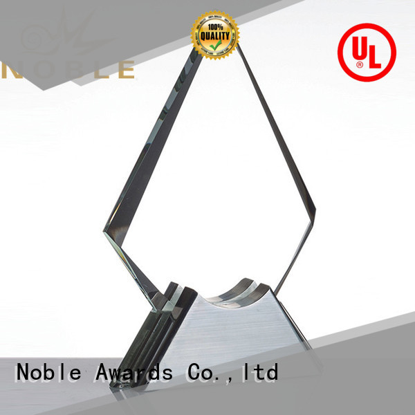 Noble Awards high-quality Blank Crystal Trophy OEM For Sport games