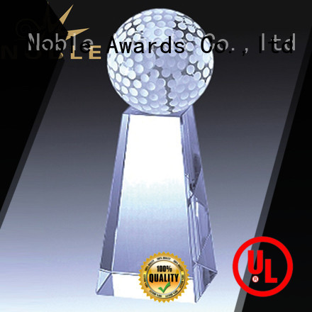 Noble Awards funky Crystal Trophy Award free sample For Sport games