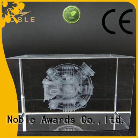 Noble Awards jade crystal Crystal trophies bulk production For Awards
