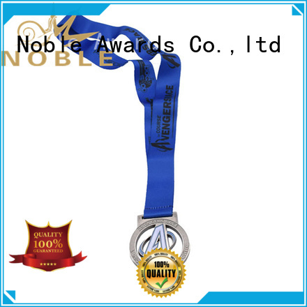 Noble Awards Zinc Alloy Sport Medals supplier For Awards