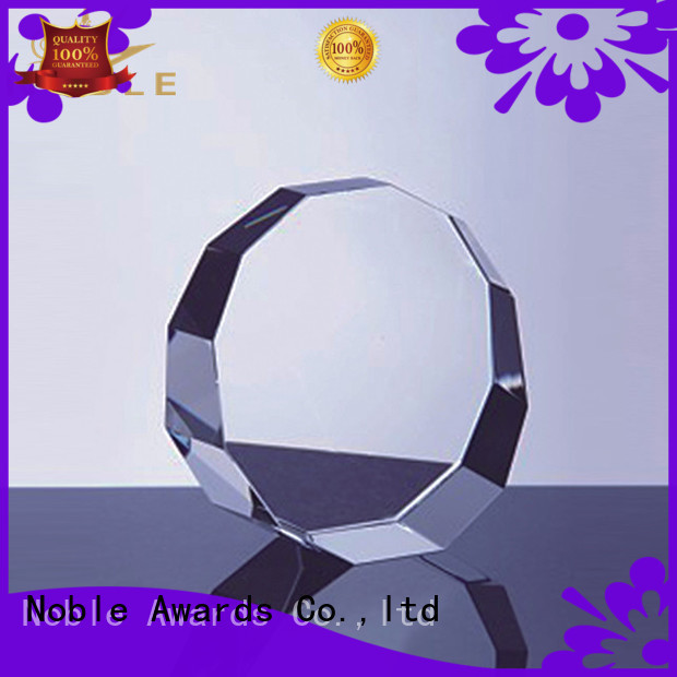 Noble Awards funky 2019 Noble Customized Blank Crystal Trophy For Company Sales Awards jade crystal For Awards