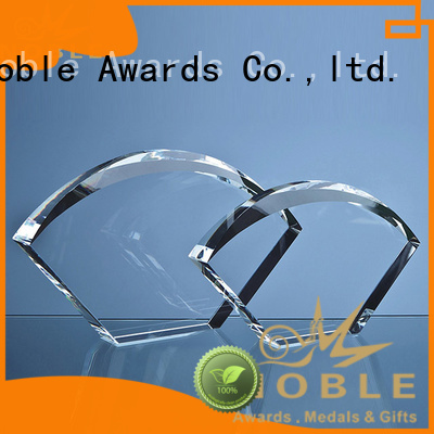 premium glass Blank Crystal Trophy supplier For Awards Noble Awards