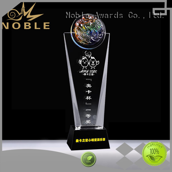 Noble Awards handcraft Liu Li trophies buy now For Sport games