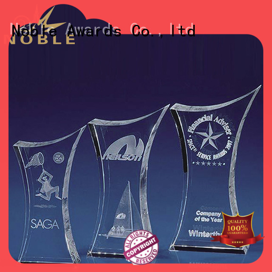 Noble Awards at discount Blank Crystal Trophy ODM For Awards