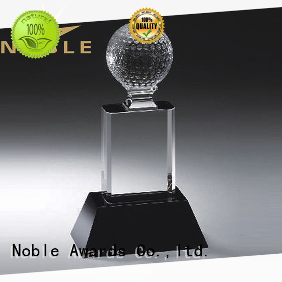Noble Awards premium glass Crystal trophies buy now For Gift