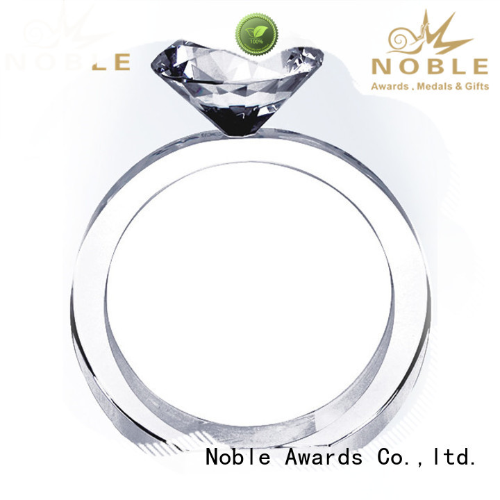 Noble Awards at discount 2019 Noble Customized Blank Crystal Trophy For Company Sales Awards premium glass For Gift