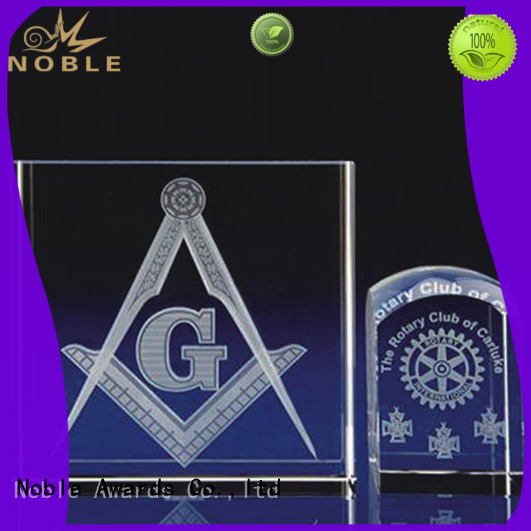 Noble Awards high-quality Blank Crystal Trophy buy now For Sport games