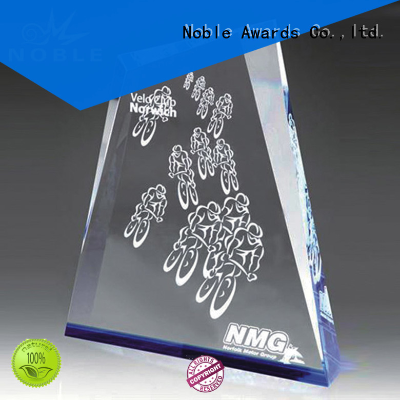 solid mesh Crystal Trophy Award jade crystal for wholesale For Sport games