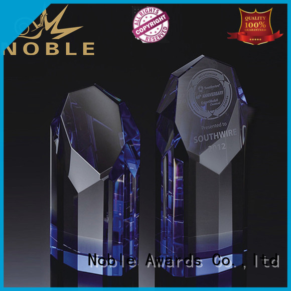 portable Crystal Trophy Award jade crystal customization For Sport games