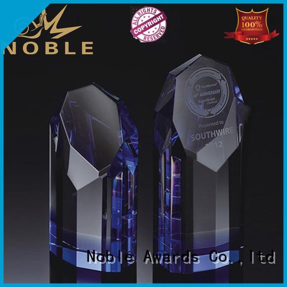 portable Crystal Trophy Award jade crystal customization For Sport games