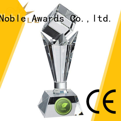 Noble Awards premium glass Crystal Trophy Award get quote For Awards
