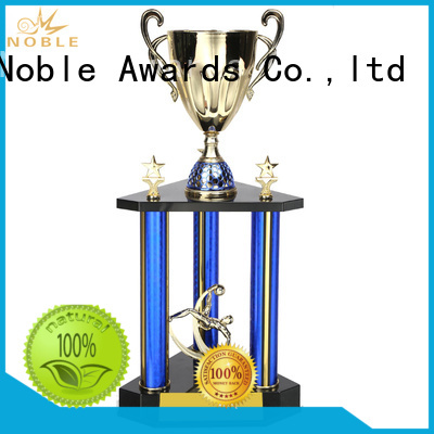 funky Personalized Metal trophies Gift Box with Gift Box For Sport games