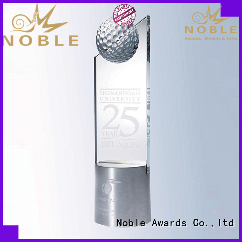 Noble Awards durable Crystal Trophy Award customization For Gift